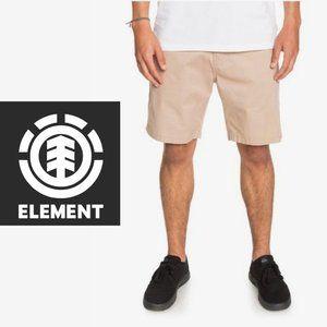 Element Khaki Shorts - Size 28